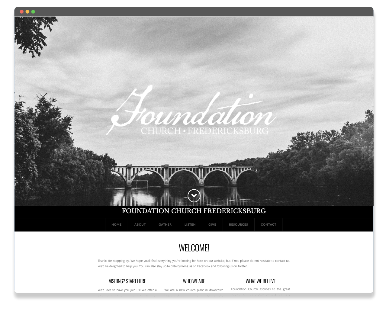 foundation church preview